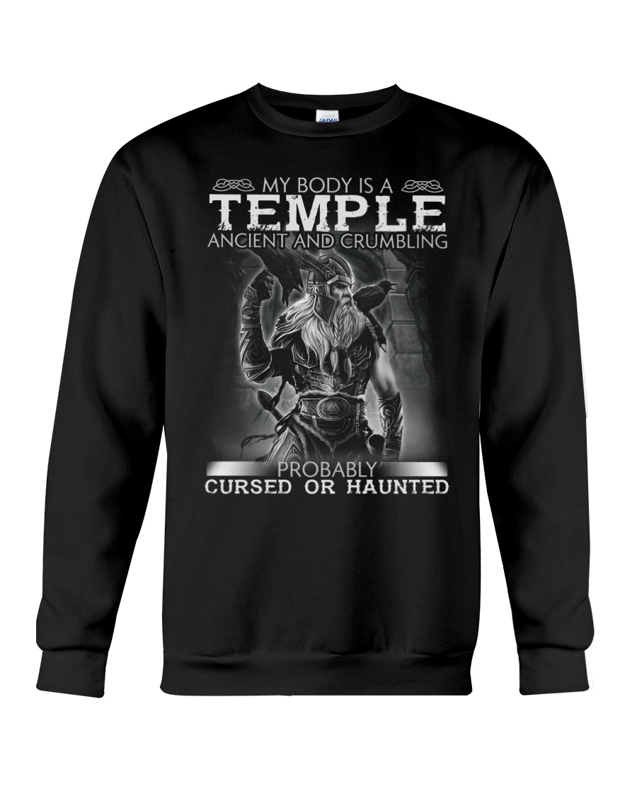 My Body Is A Temple Ancient And Crumbling Shirt 12