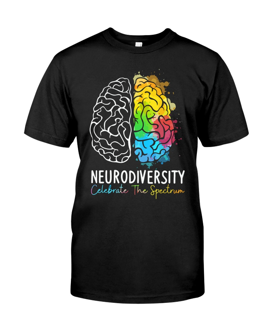 Neurodiversity Celebrate The Spectrum Shirt 10