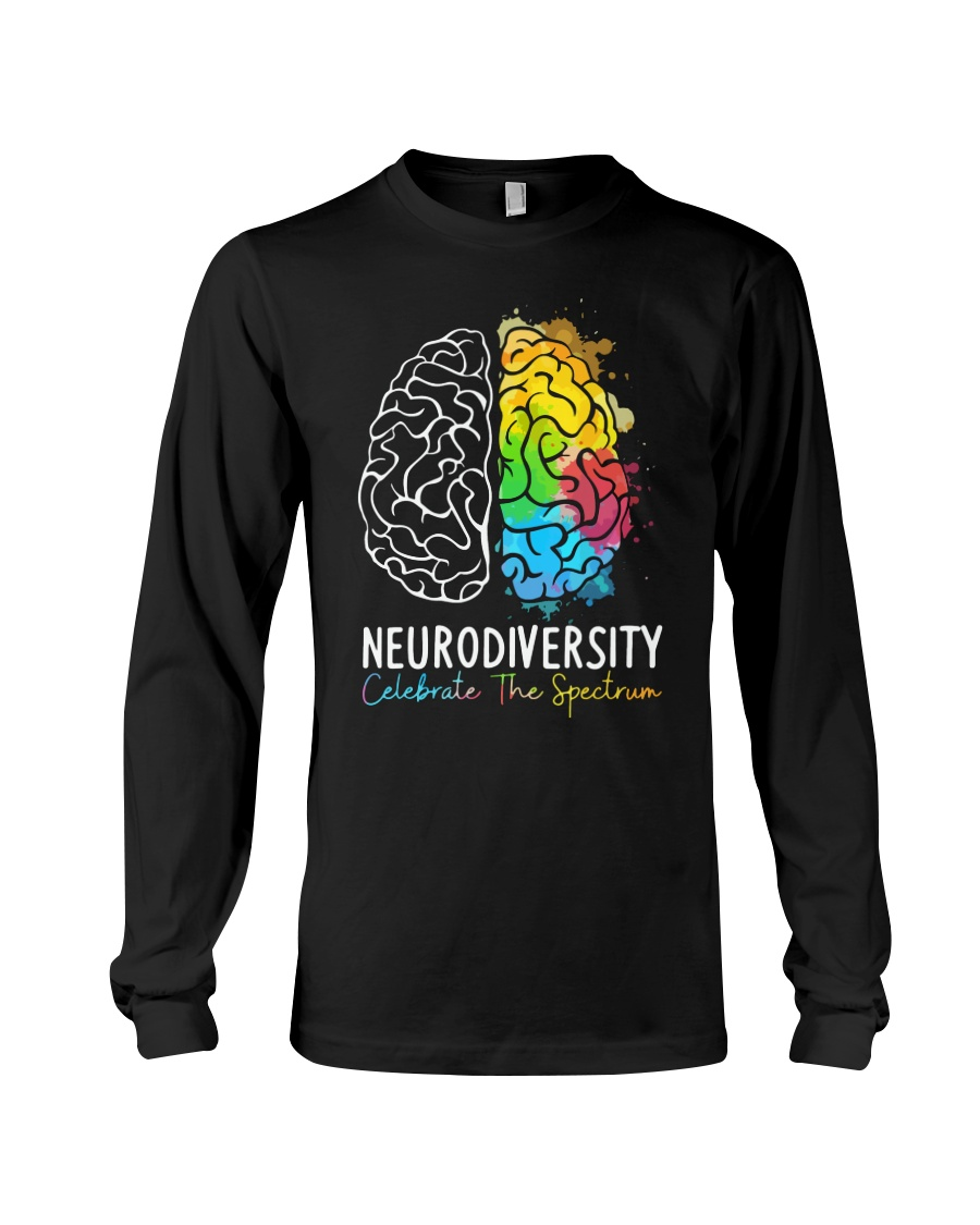 Neurodiversity Celebrate The Spectrum Shirt 13