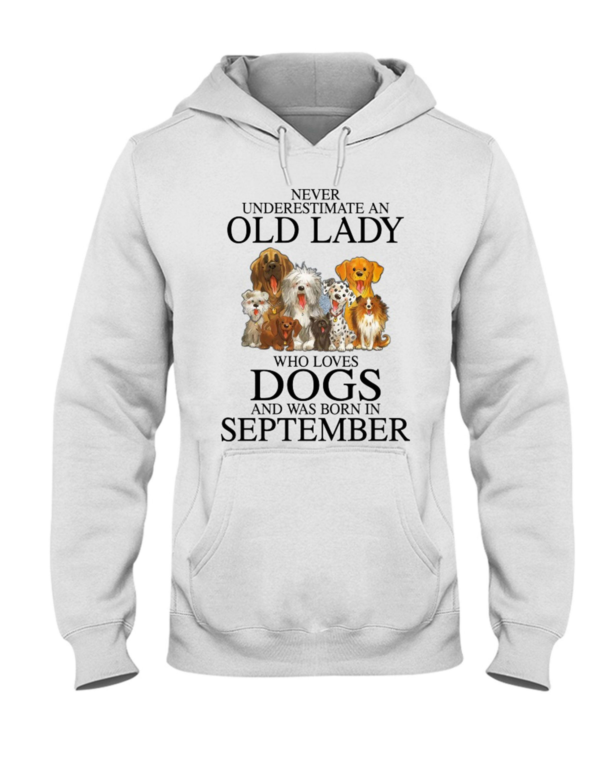 Never Underestimate An Old Lady Who Loves Dogs Shirt 13