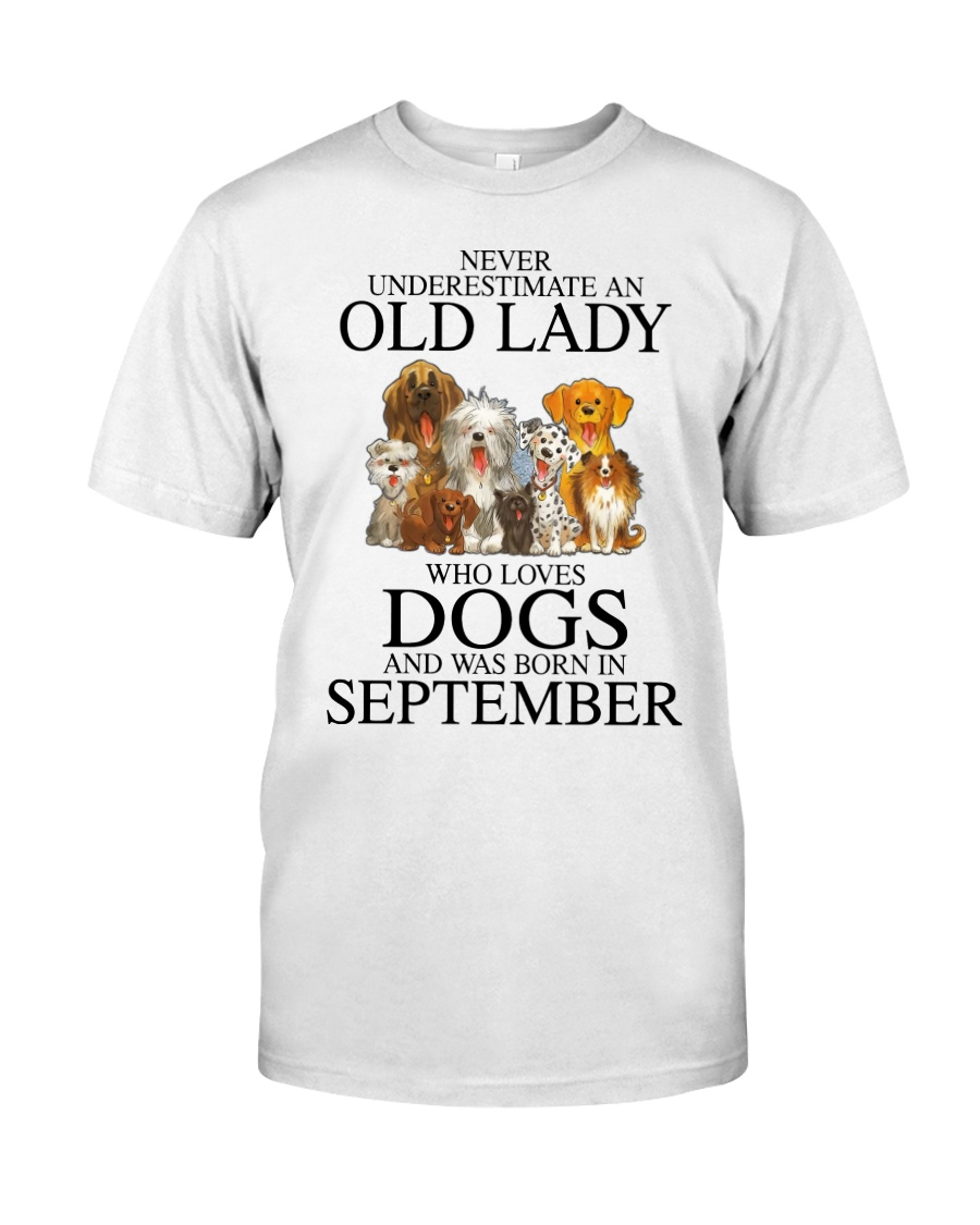 Never Underestimate An Old Lady Who Loves Dogs Shirt 12