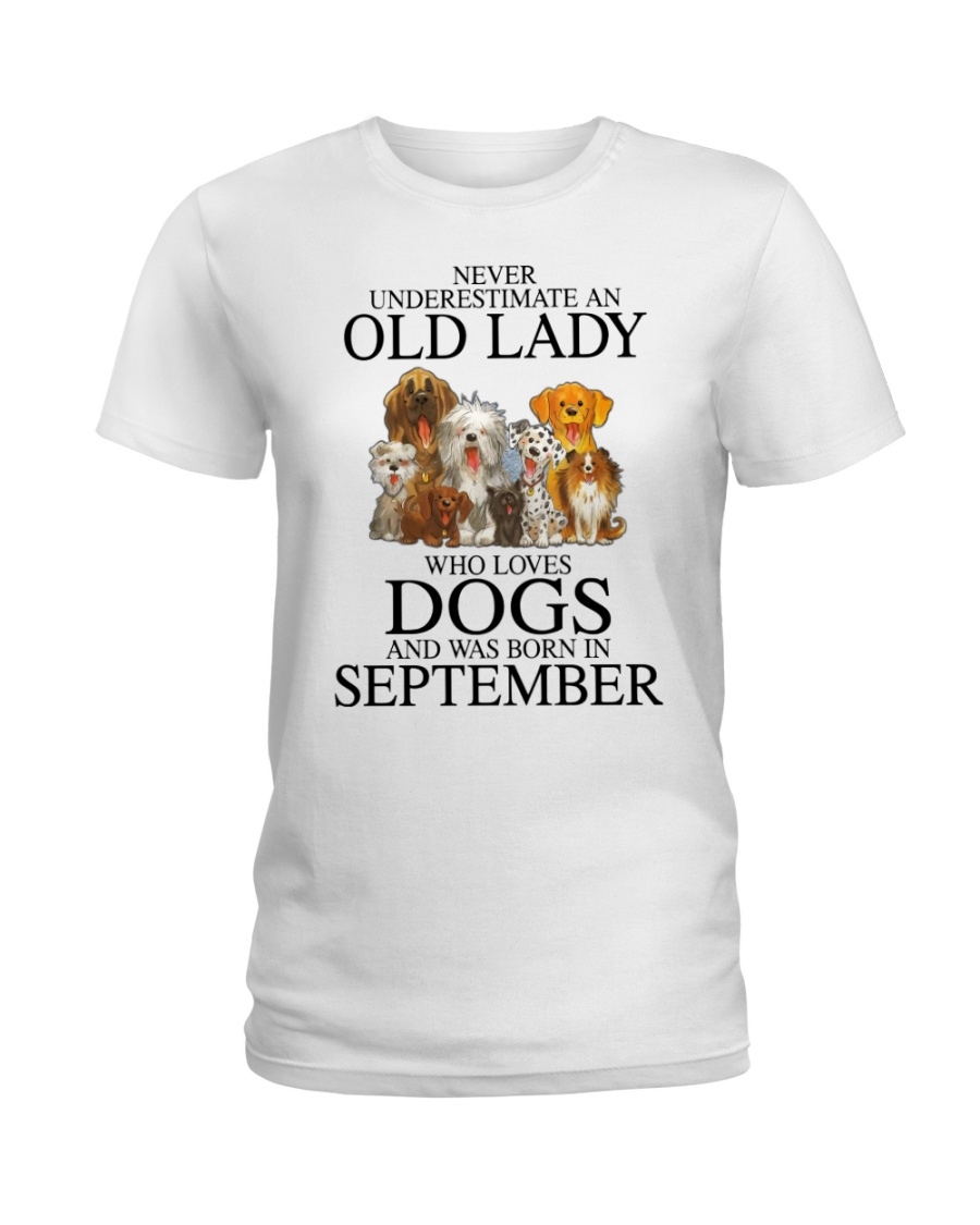 Never Underestimate An Old Lady Who Loves Dogs Shirt 10