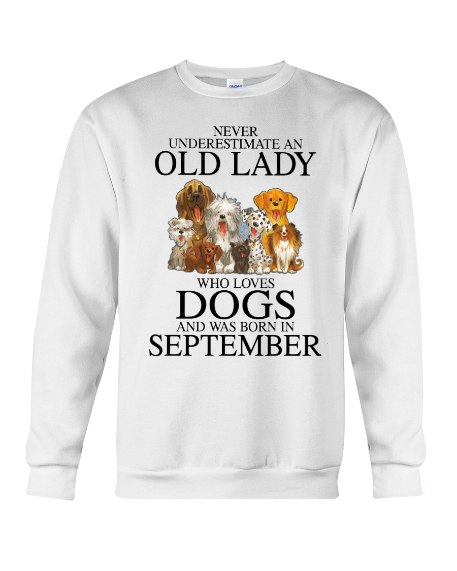 Never Underestimate An Old Lady Who Loves Dogs Shirt 11