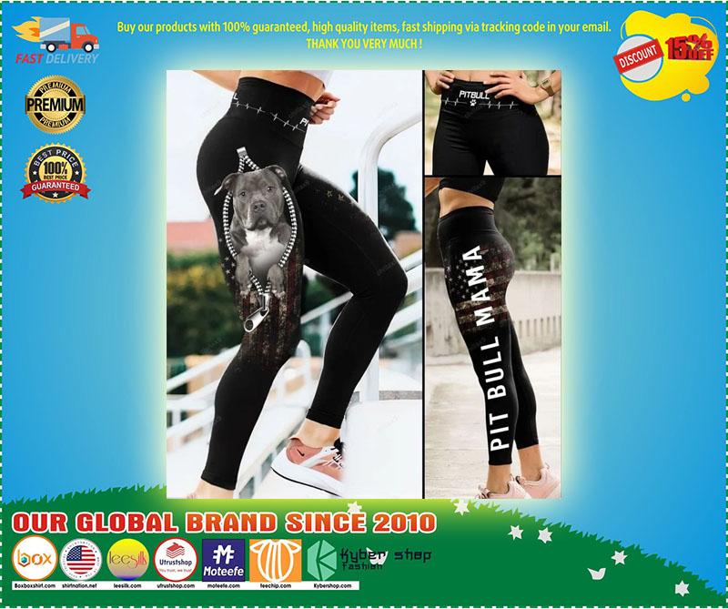 Pitbull mama legging 10