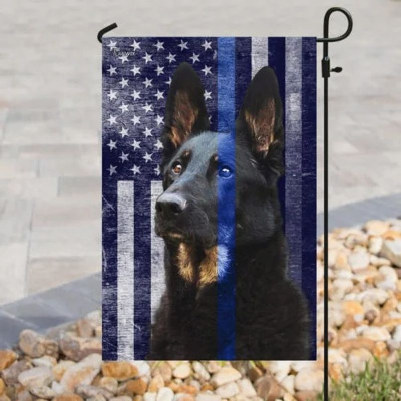 Police dog the thin blue flag 11