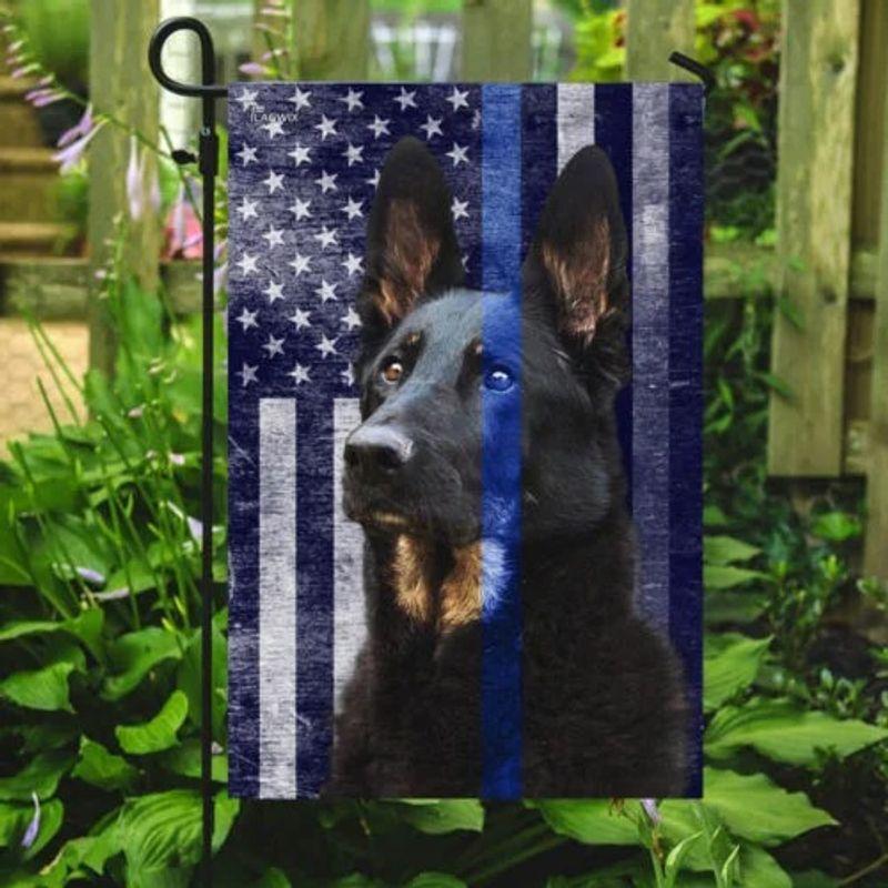 Police dog the thin blue flag 10