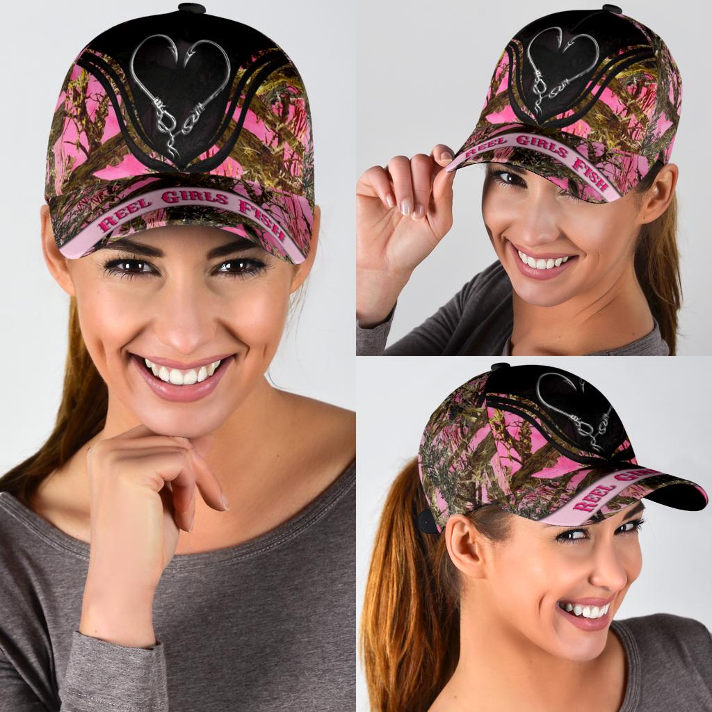Reel girls fish classic cap 11