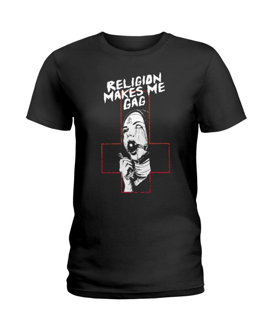 Religion Makes Me Gag Shirt 12