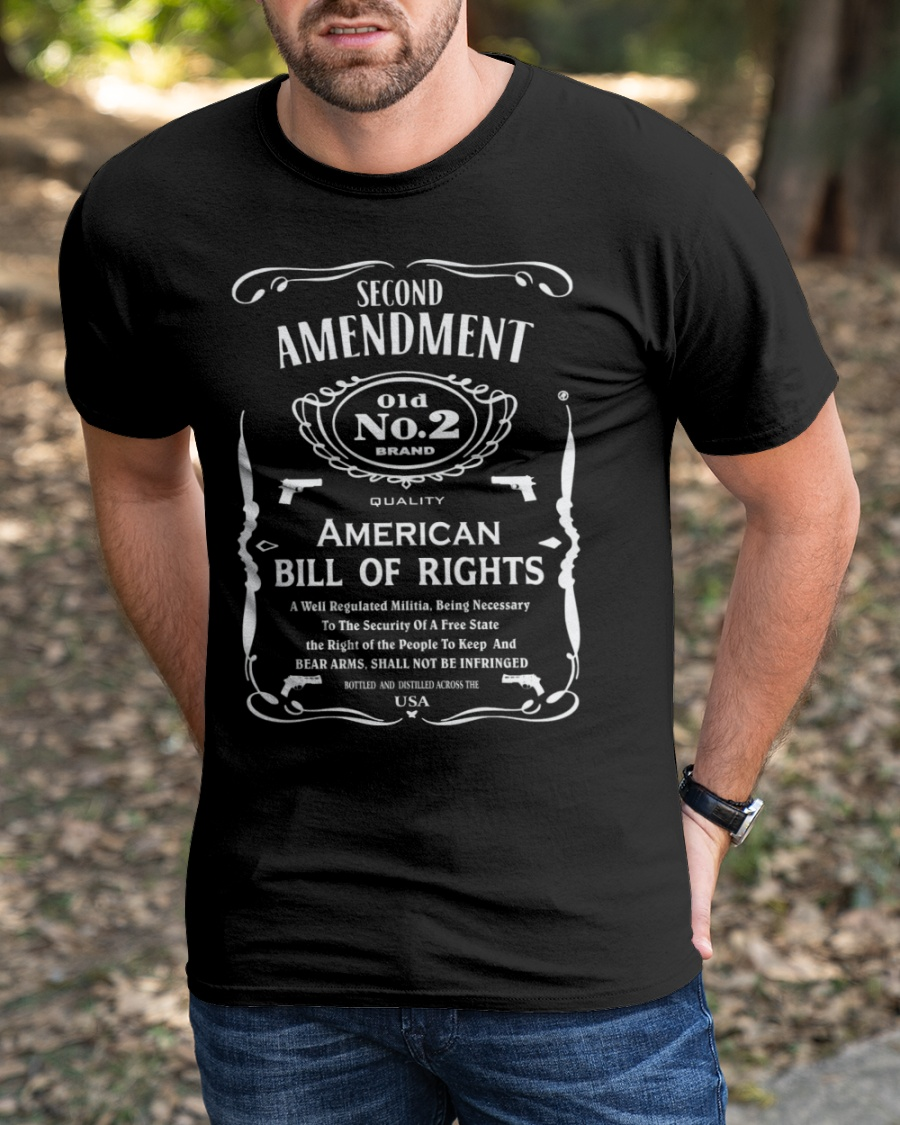 Second Amendment 01d No.2 Brand Shirt 13