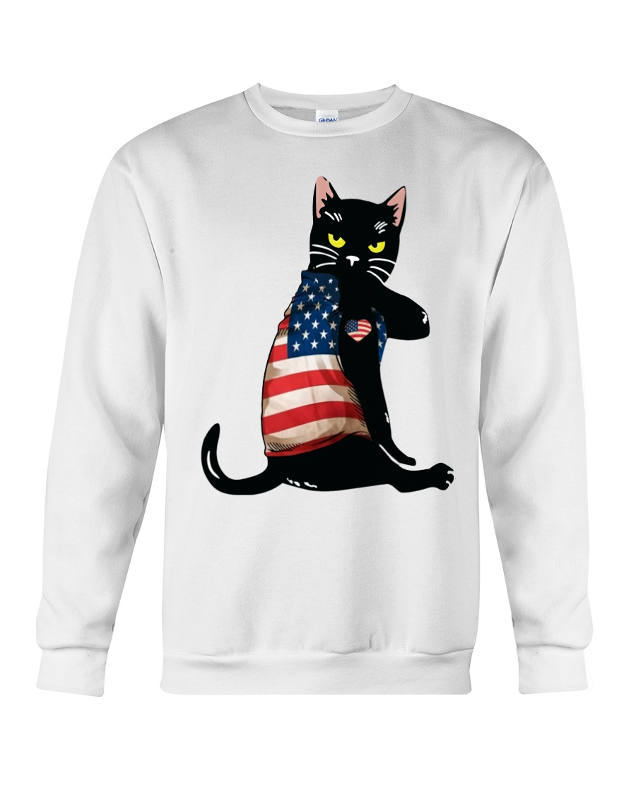 Strong Cat Patriotic Shirt 12