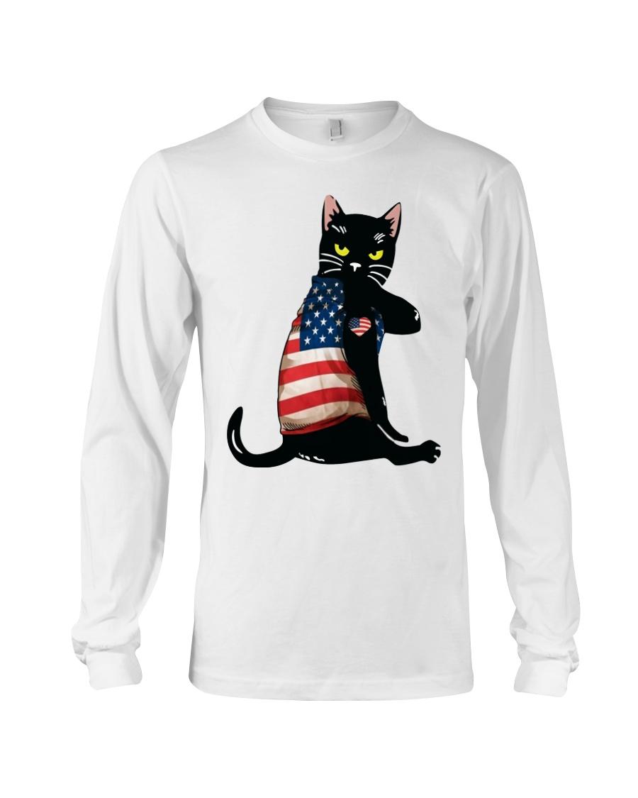 Strong Cat Patriotic Shirt 13