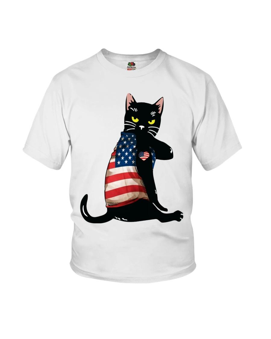 Strong Cat Patriotic Shirt 10