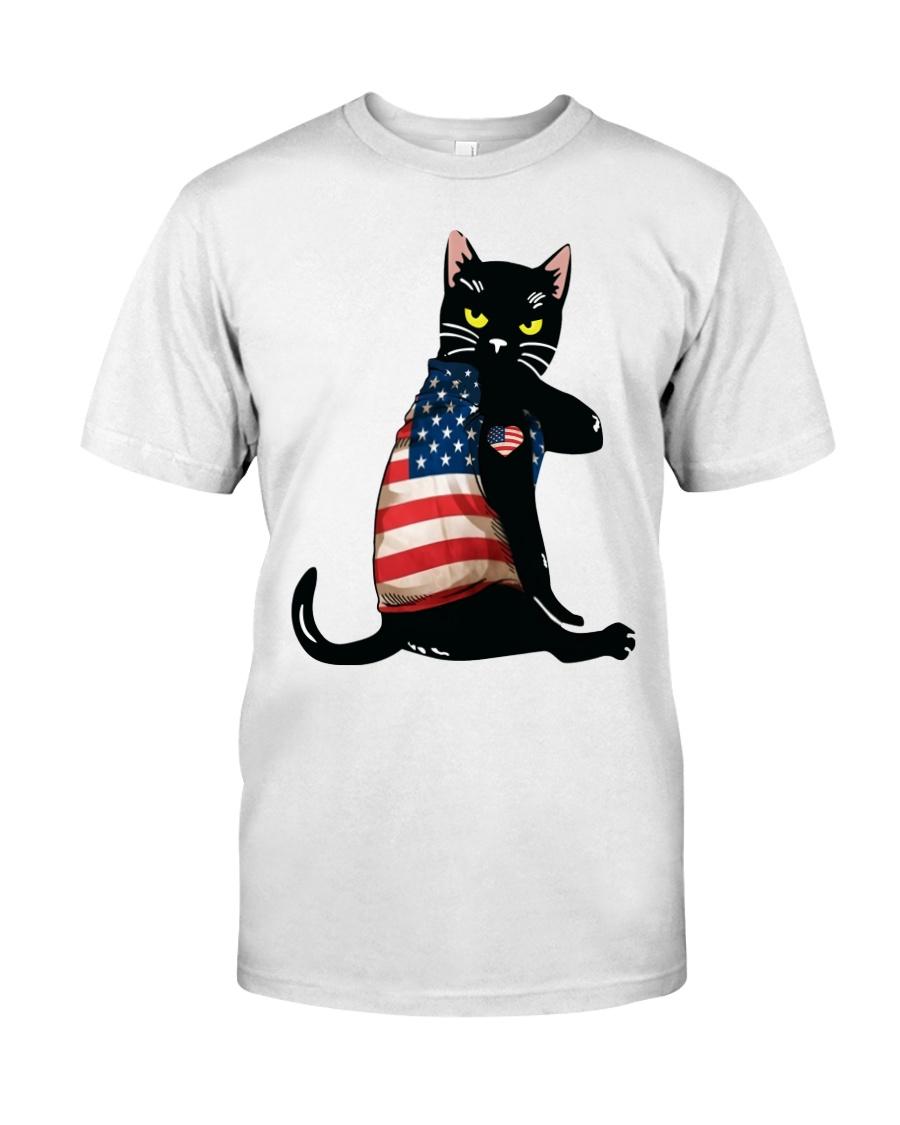 Strong Cat Patriotic Shirt 11