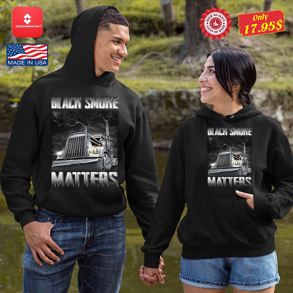 Trucker Black smoke Matters Shirt 13