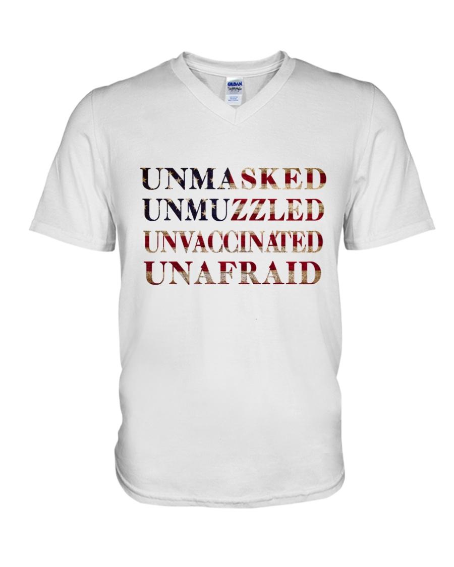Unmasked Unmuzzled Unvaccinated Unafraid Shirt 11
