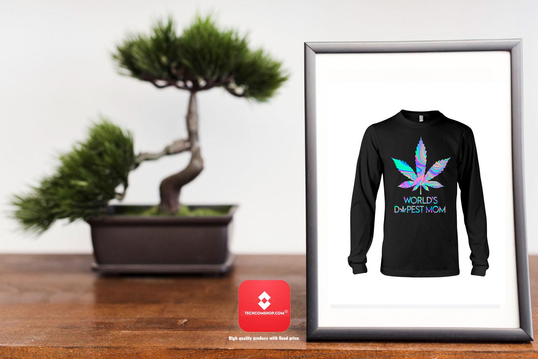 World's Dopest Mom Shirt 7