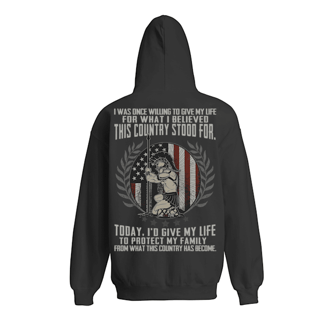 i was Once Willing to Give My Life for What I Believed This Country Stood for Shirt 12