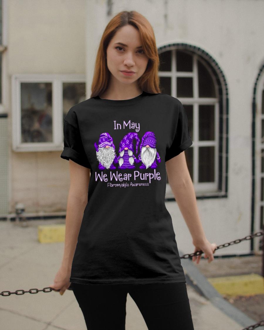 in May We Wear Purple Fibromyalgia Awareness Shirt 13