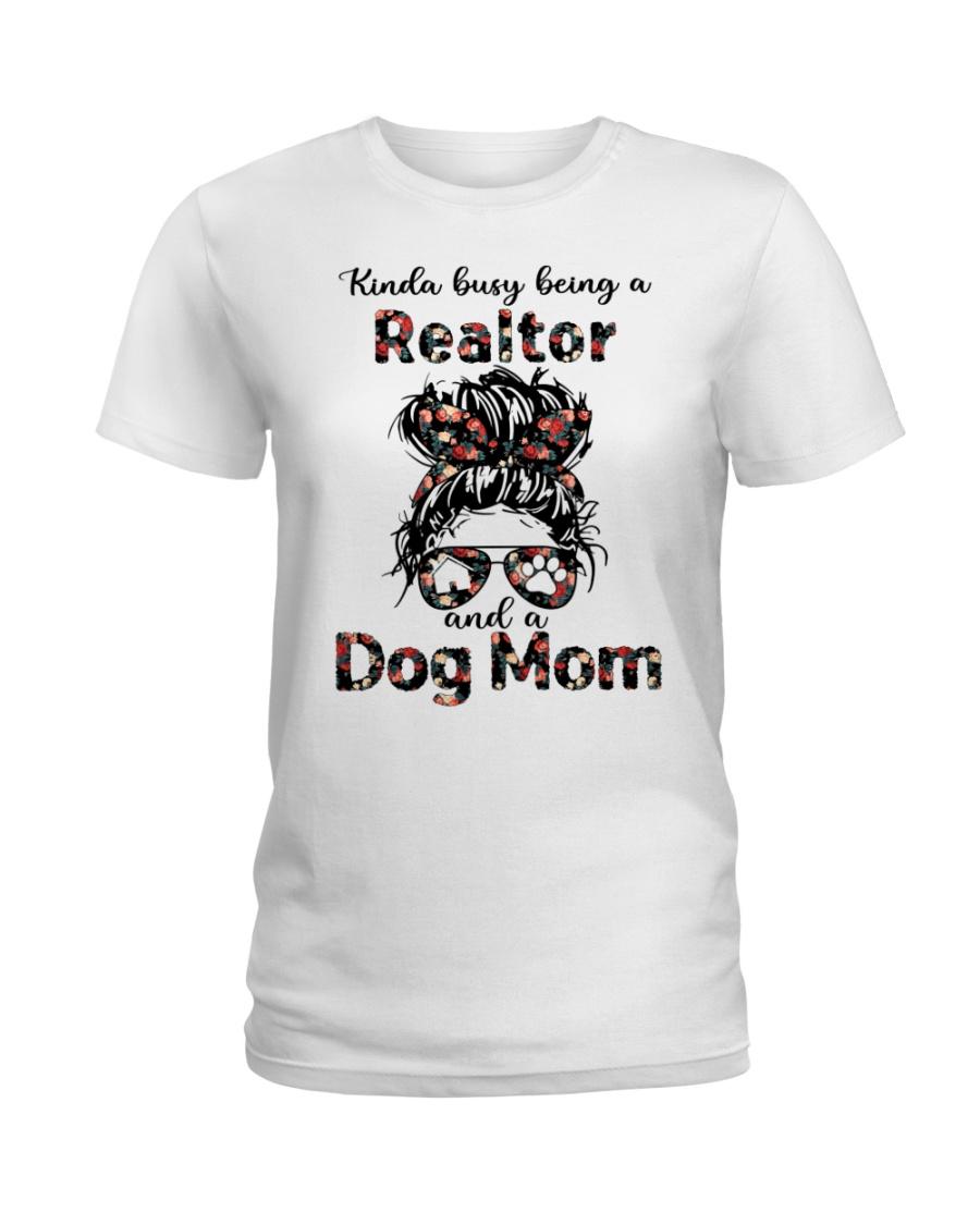 Kinda Busy Being A Realtor And A Dog Mom Shirt 13