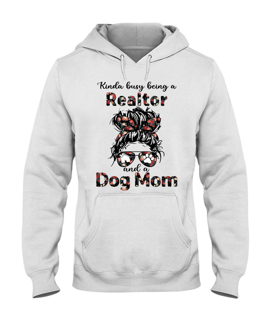 Kinda Busy Being A Realtor And A Dog Mom Shirt 11