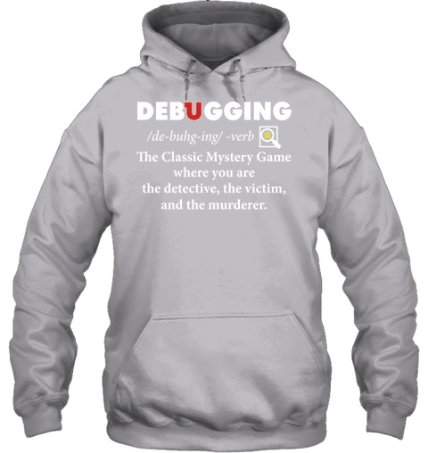 Debugging the classic mystery game Shirt 8