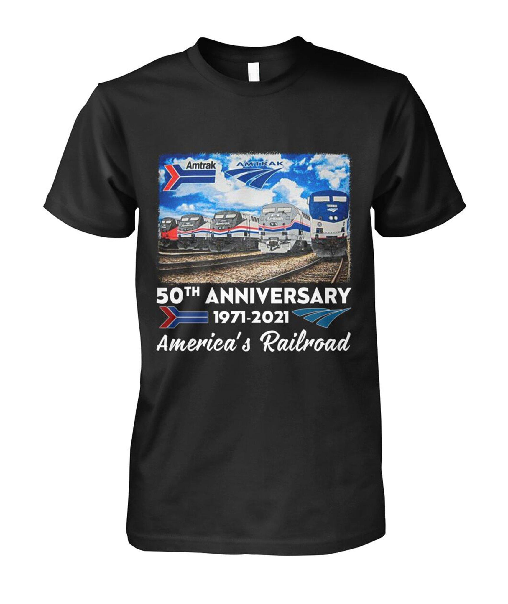 50th Anniversary 1971 2021 America's Railroad Shirt 13