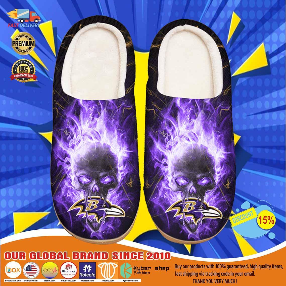 Baltimore Ravens Custom Shoes Slippers 11