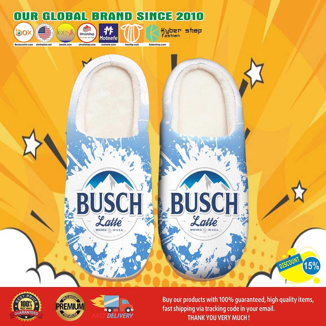 Break All Limits Busch Latte Shoes Slippers 7