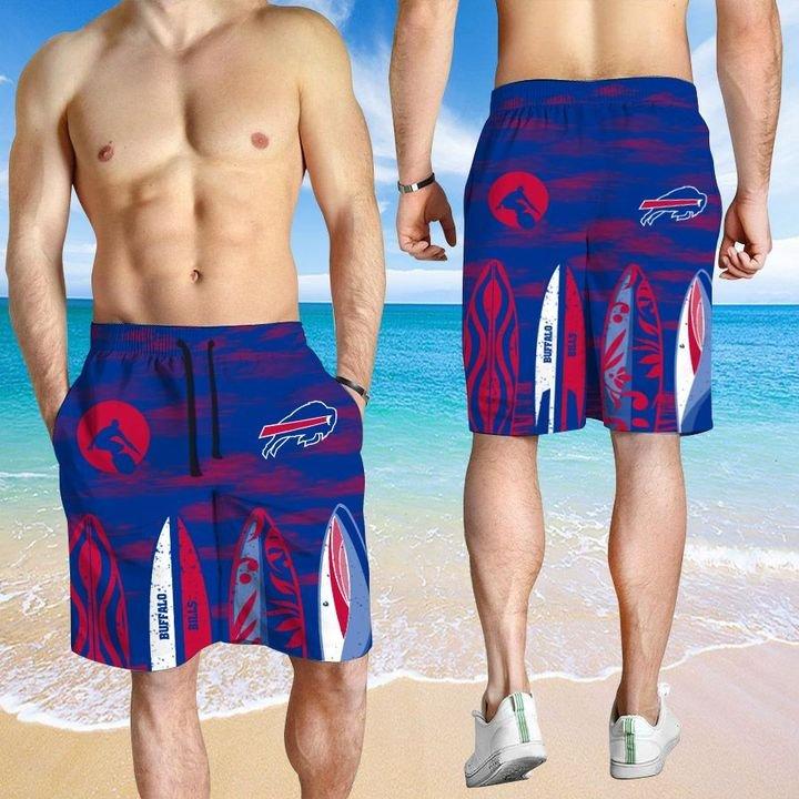 Buffalo Bills Hawaiian shirt And Beach SHORT 15