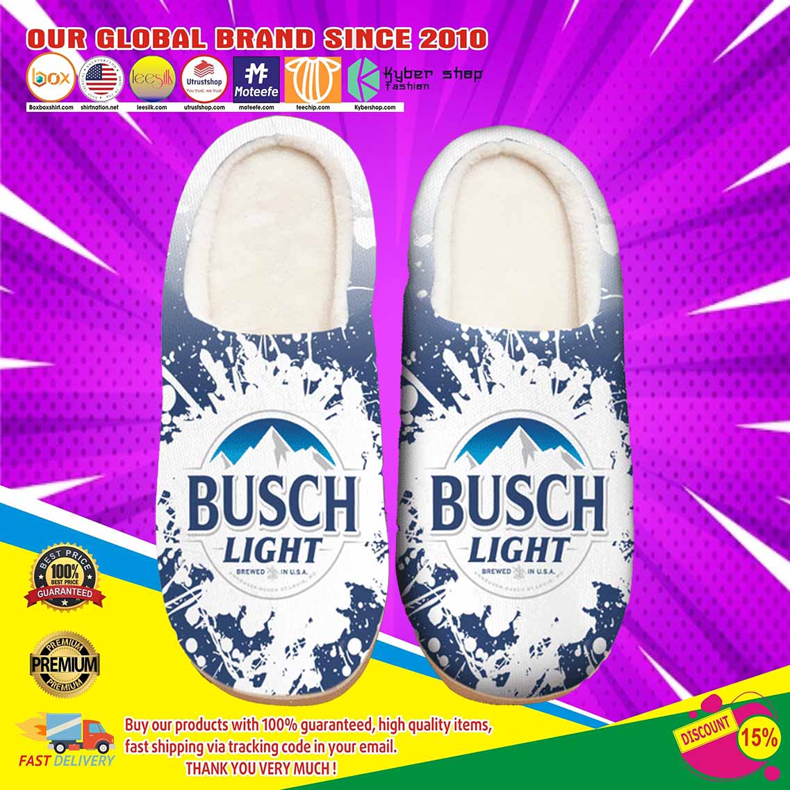 Busch Light Beer Shoes Slippers 5