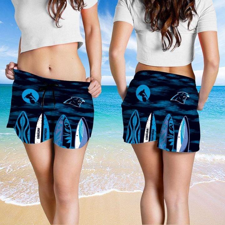 Carolina Panthers Hawaiian shirt And Beach SHORT 15