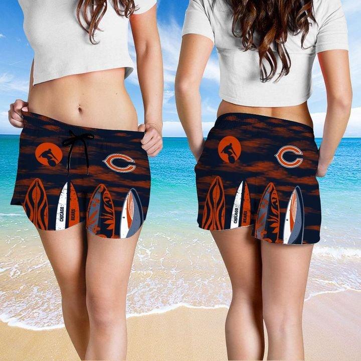 Chicago Bears Hawaiian shirt And Beach SHORT 15