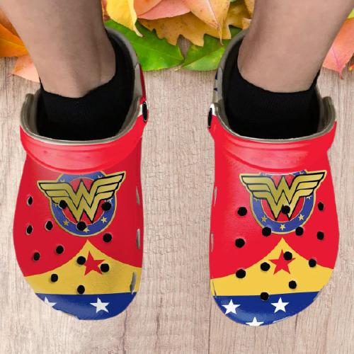 Diana Princess Wonder Woman Crocs Clog Crocband Shoes.jpg1