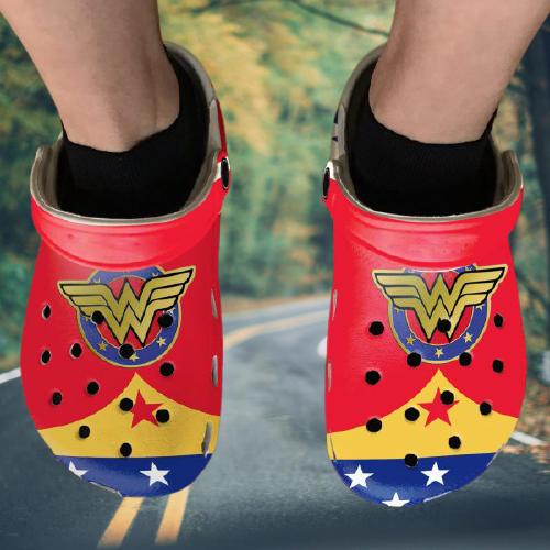 Diana Princess Wonder Woman Crocs Clog Crocband Shoes.jpg4
