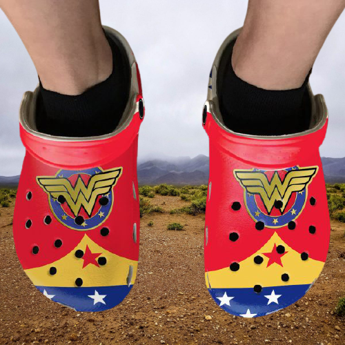 Diana Princess Wonder Woman Crocs Clog Crocband Shoes.jpg5