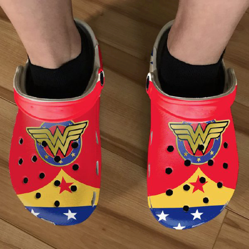Diana Princess Wonder Woman Crocs Clog Crocband Shoes