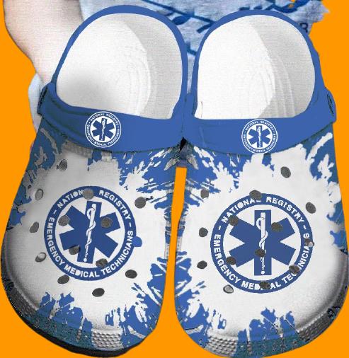 EMT Emergency medical technician Nurse CROCS CLOG SHOES.jpg7