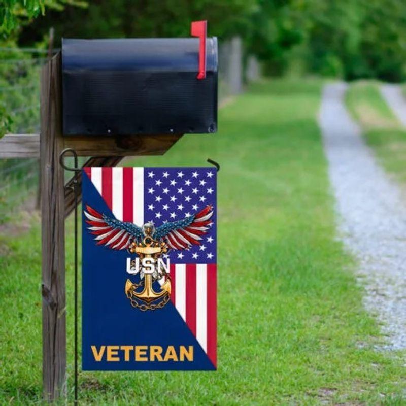 Eagle United states Navy veteran American flag 9