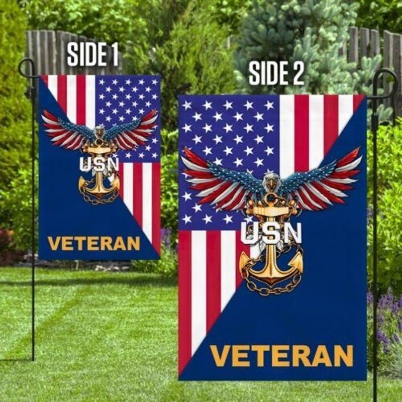 Eagle United states Navy veteran American flag 10