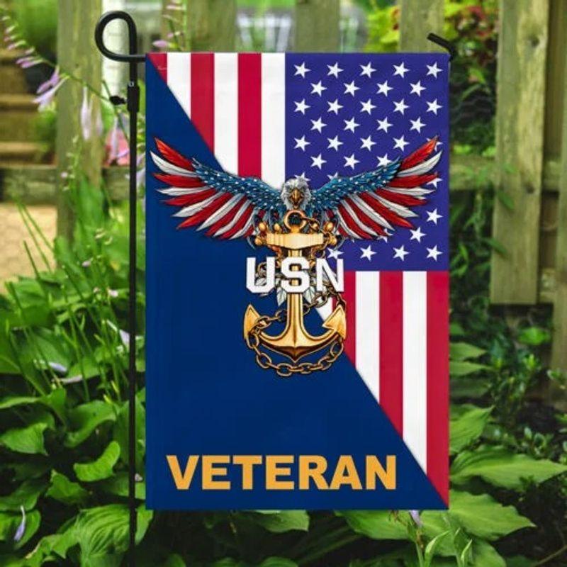 Eagle United states Navy veteran American flag 11