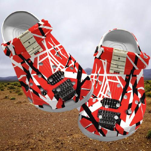Eddie Van Halen crocs clog crocband shoes.jpg5