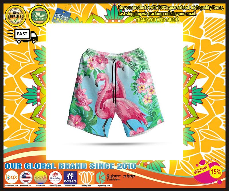 Flamingo hawaiian shirt 10