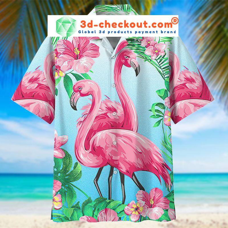 Flamingo hawaiian shirt 9