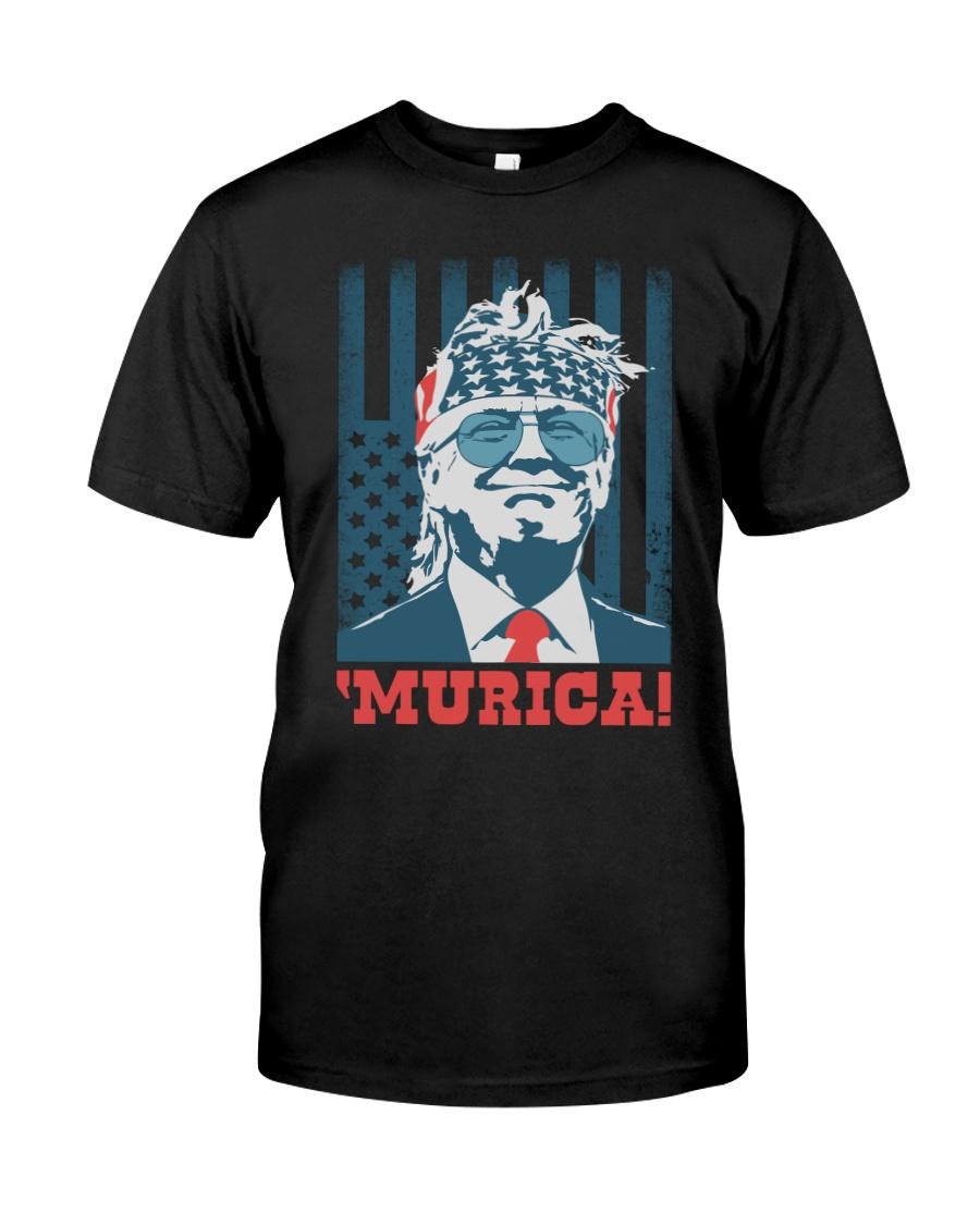 Former President Donal Trump Murica! Shirt 12