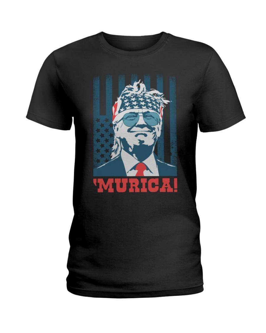 Former President Donal Trump Murica! Shirt 11