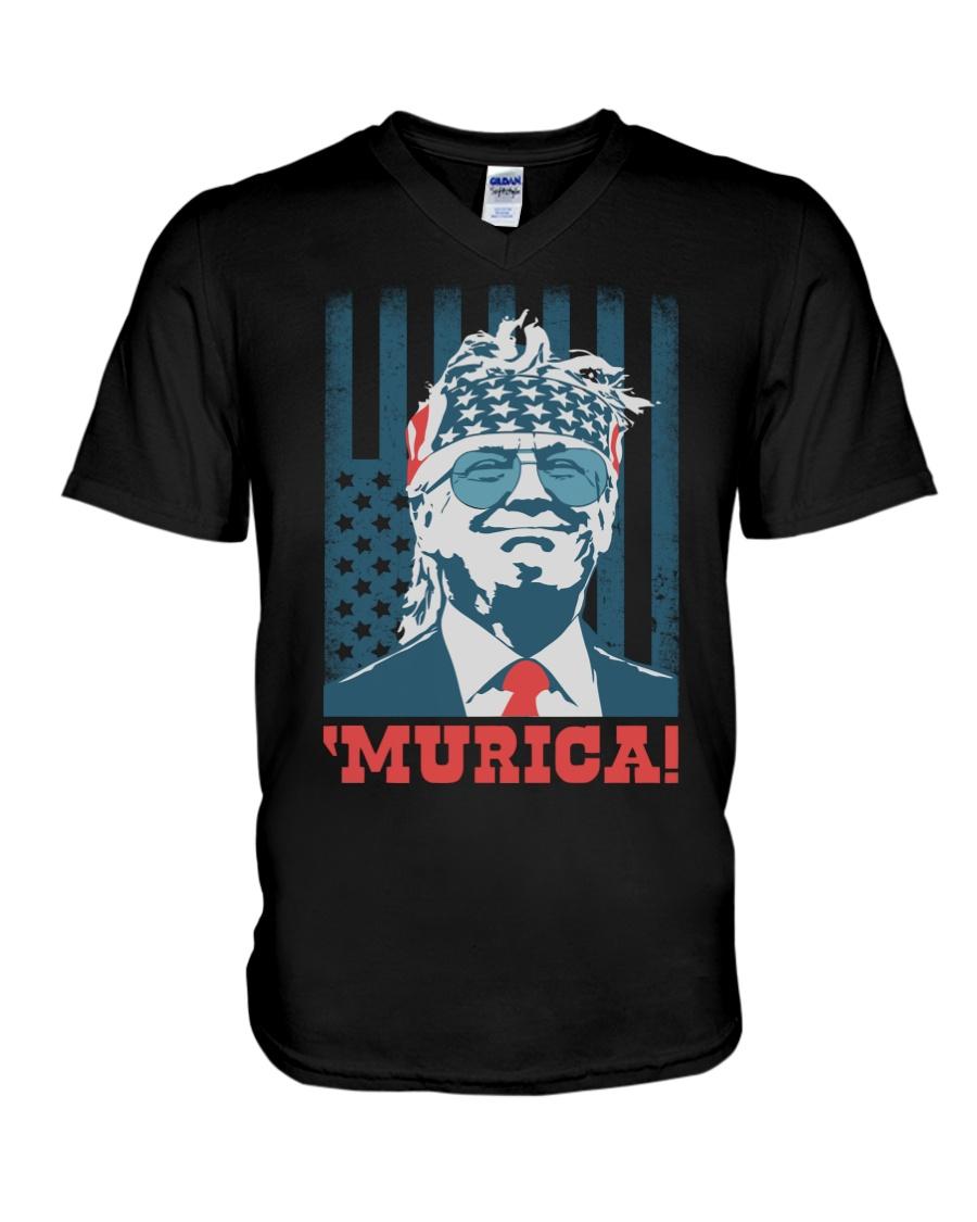 Former President Donal Trump Murica! Shirt 10