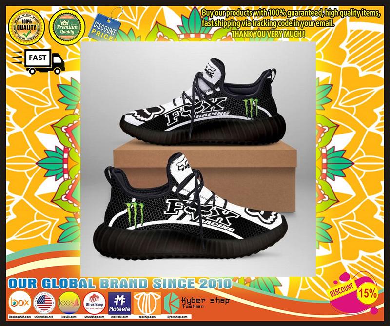 Fox racing monster energy yeezy sneaker 9