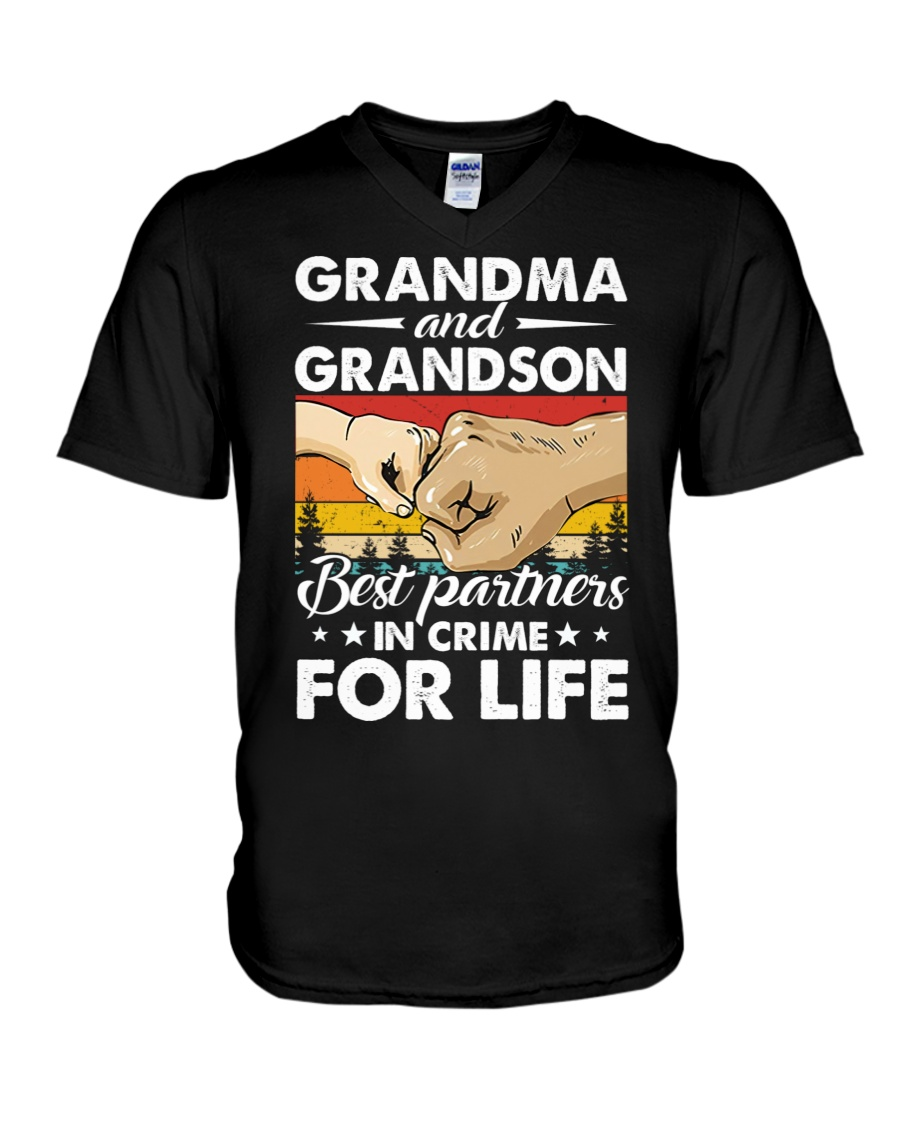 Grandma And Grandson Best Partners In Crime For Life Shirt 12