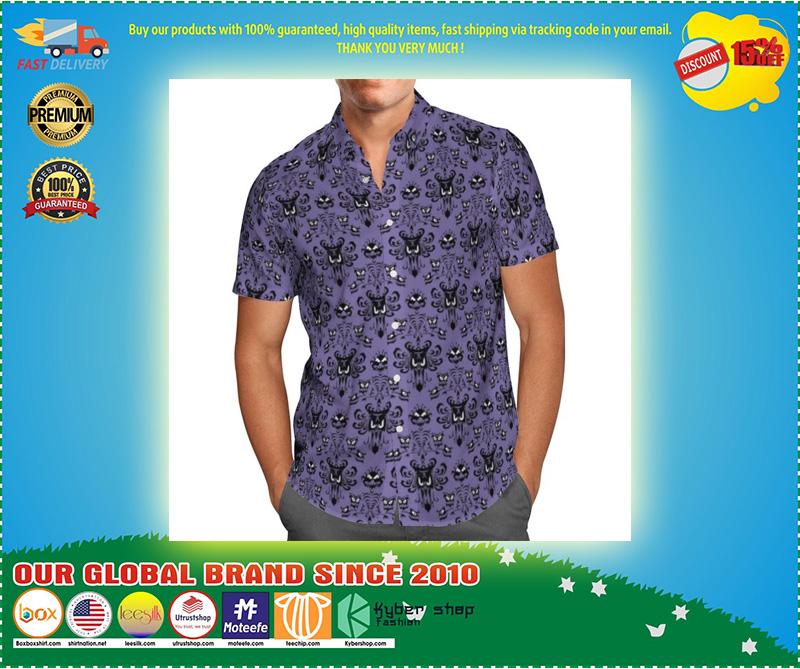 Haunted mansion hawaiian shirt 9