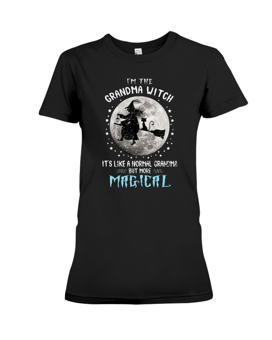I'm The Grandma Witch It's Like A Normal Grandma But More Magical Shirt 12